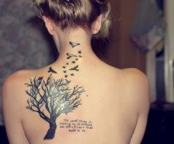 Wenn Tattoos den Körper schmücken