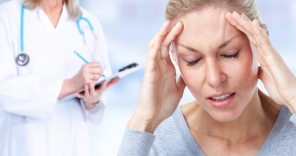 Behandlung von Migräne-Kopfschmerzen